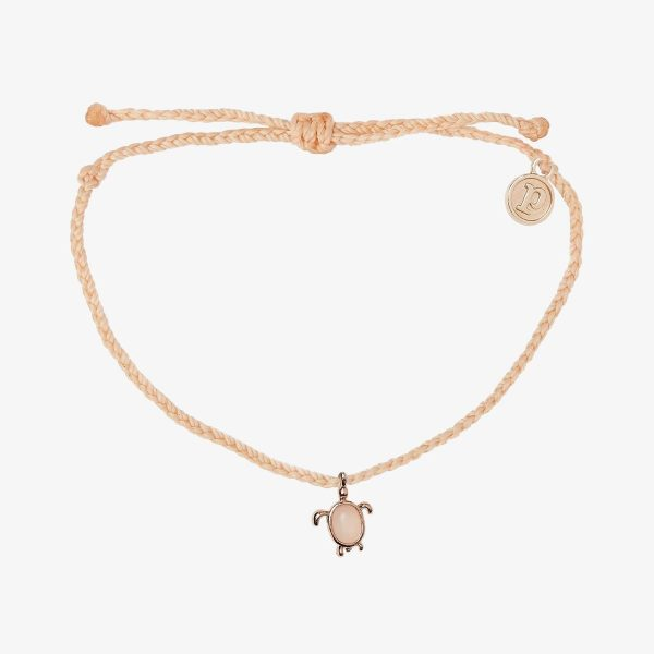 ROSE GOLD SAVE THE SEA TURTLES CHARM