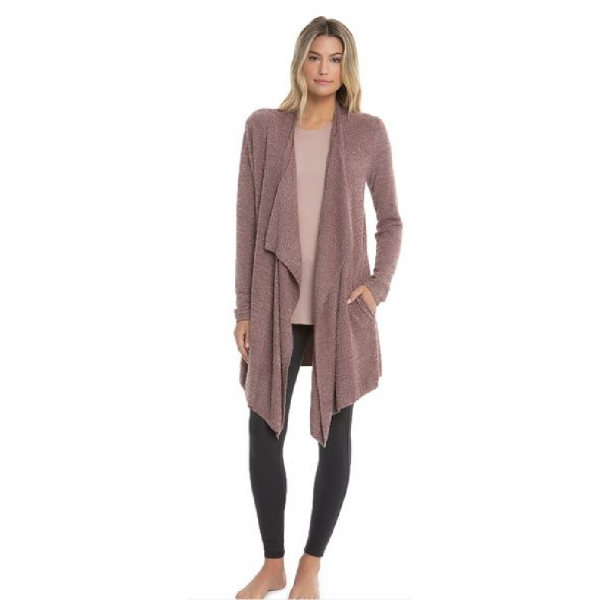 BAREFOOT DREAMS COZYCHIC LITE ISLAND WRAP IN ROSEWOOD