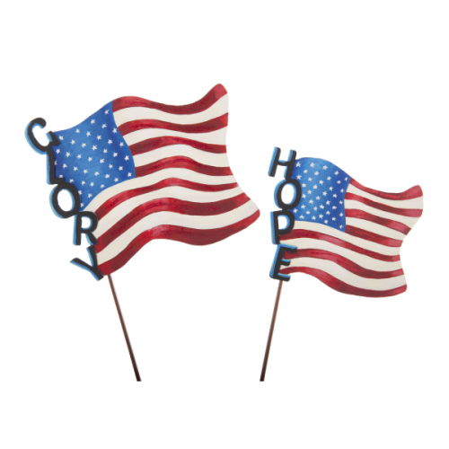 ROUND TOP COLLECTION HOPE AND GLORY FLAGS