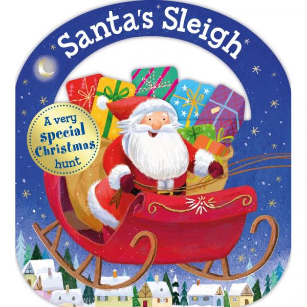 SANTA'S SLEIGH CHILDREN'S BOOK