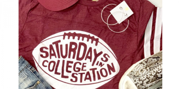 SATURDAYS IN COLLEGE STATION TSHIRT