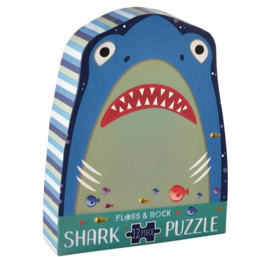 SHARK 12 PIECE JIGSAW PUZZLE