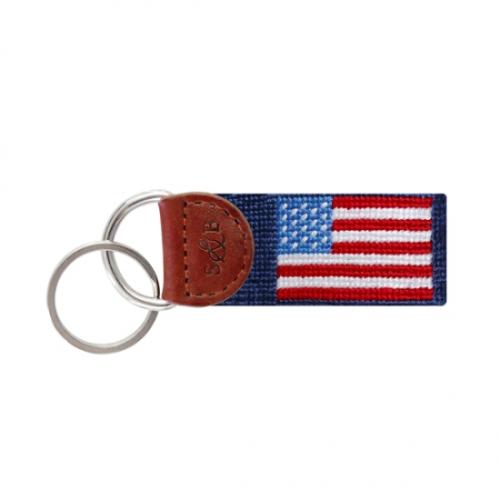 SMATHERS & BRANSON AMERICAN FLAG KEY FOB