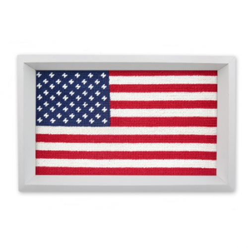 SMATHERS & BRANSON AMERICAN FLAG VALET TRAY
