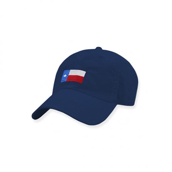 SMATHERS & BRANSON NAVY TEXAS FLAG PERFORMANCE HAT