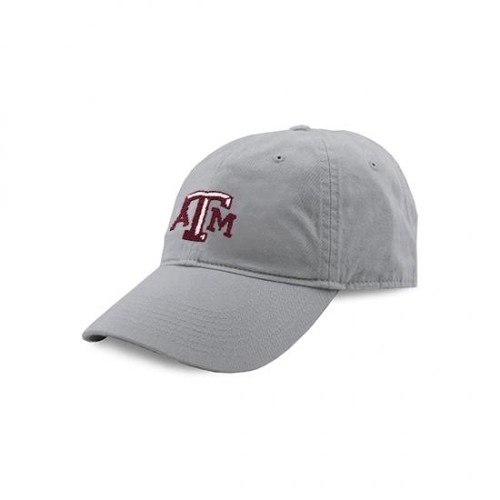 SMATHERS & BRANSON TEXAS A&M NEEDLEPOINT HAT