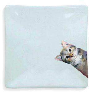 SNEAKY CAT AQUA DISH