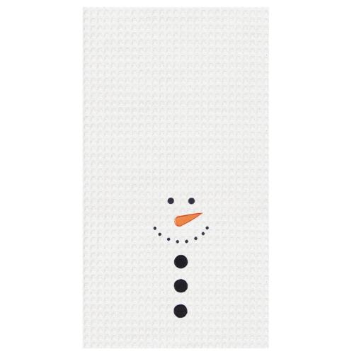SNOWMAN FACE KITCHEN TOWEL