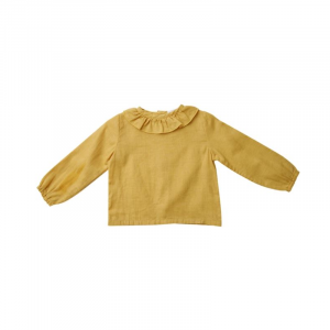 SOLID HONEY BLOUSE