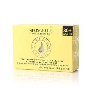 SPONGELLE HONEY BLOSSOM PEDI BUFFER