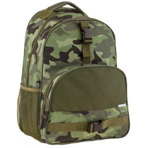 STEPHEN JOSEPH ALL OVER BACKPACK - CAMO