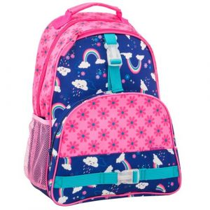 STEPHEN JOSEPH ALL OVER BACKPACK - RAINBOW