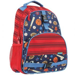 STEPHEN JOSEPH ALL OVER BACKPACK - SPORTS
