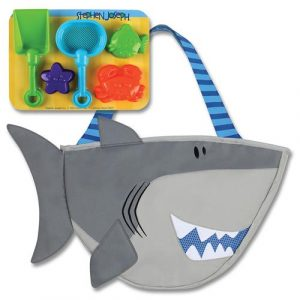 STEPHEN JOSEPH BEACH TOTE - SHARK