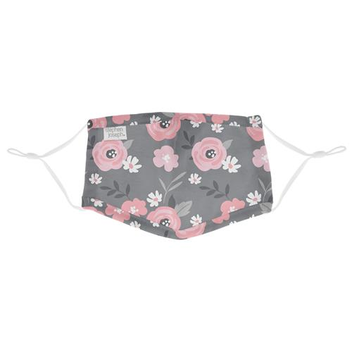 STEPHEN JOSEPH FLORAL KID COTTON FACE MASK