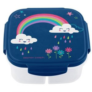 STEPHEN JOSEPH SNACK BOX - RAINBOW