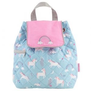 STEPHEN JOSEPH UNICORN BABY QUILTED BACKPACK
