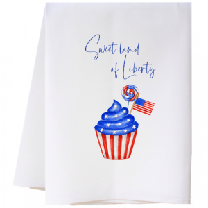 SWEET LAND OF LIBERTY FLOUR SACK TOWEL