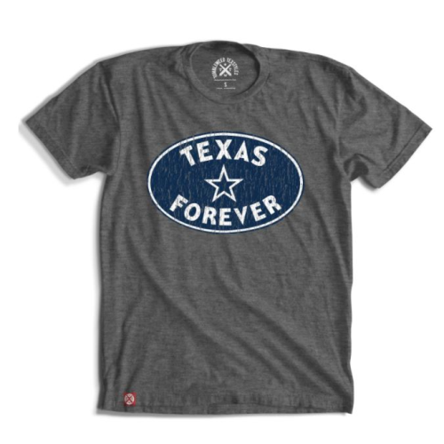 TEXAS FOREVER OVAL CREW NECK SHIRT