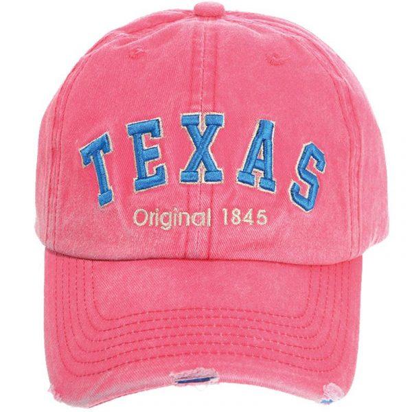 TEXAS PINK BASIC ORIGINAL CAP