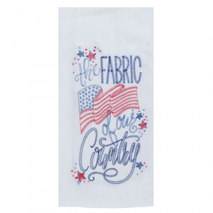 THE FABRIC OF OUR COUNTRY FLOUR SACK TOWEL