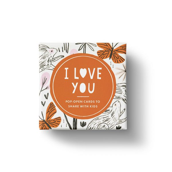 THOUGHTFULLS FOR KIDS POP UP CARDS- I LOVE YOU