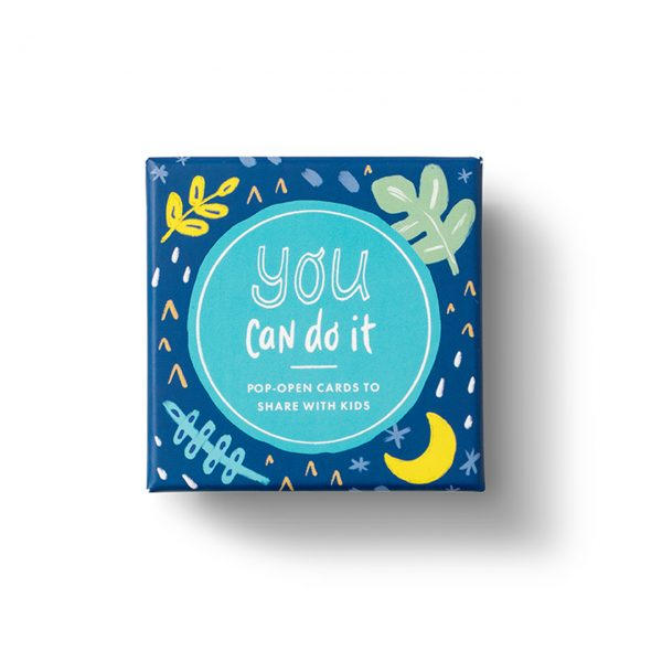 THOUGHTFULLS POP OPEN CARDS FOR KIDS- YOU CAN DO IT