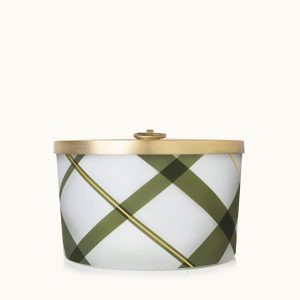 THYMES FRASIER FIR FROSTED LARGE CANDLE