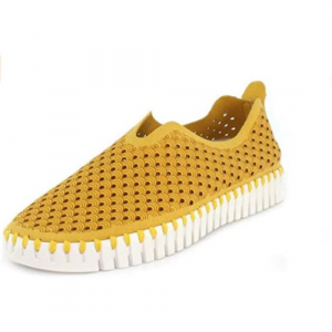 TULIP SLIP- ON WITH WHITE SOLE- GOLDEN ROD