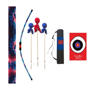 TWO BROS BOWS BLUE TIE DYE ARCHERY COMBO SET
