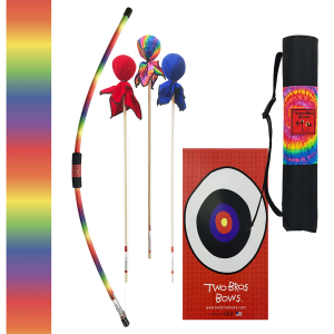 TWO BROS BOWS RAINBOW ARCHERY COMBO SET