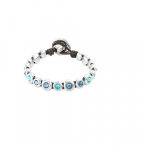 UNO DE 50 MAGIC TOUCH BLUE BRACELET