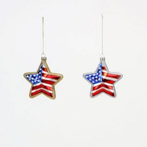 USA STAR ORNAMENTS