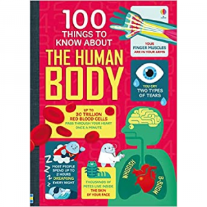 USBORNE 100 THINGS TO KNOW ABOUT THE HUMAN BODY