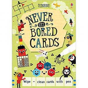 USBORNE NEVER GET BORED CARDS