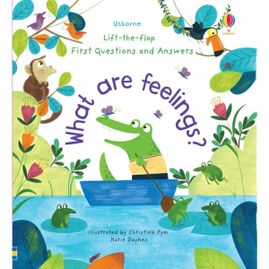 USBORNE WHAT ARE FEELINGS BOOK
