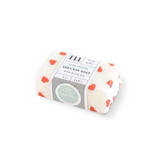 VALENTINE NO.27 CASHMERE SHEA BAR SOAP