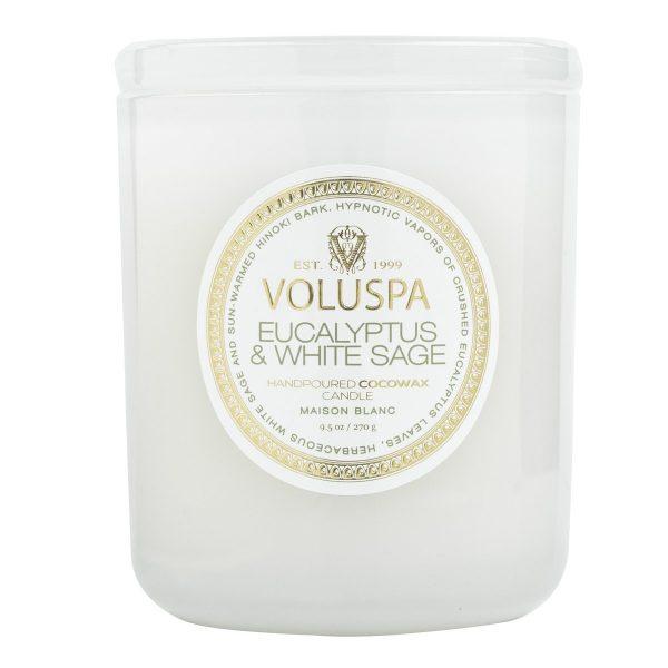 VOLUSPA EUCALYPTUS & WHITE SAGE CLASSIC CANDLE