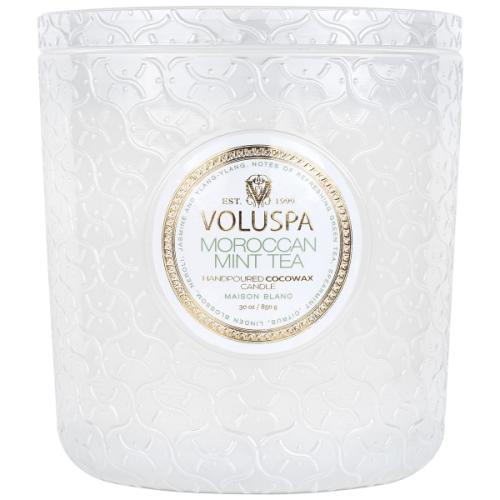 VOLUSPA MOROCCAN MINT TEA 30 OZ. LUX CANDLE