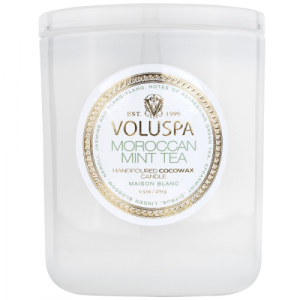 VOLUSPA MOROCCAN MINT TEA 9.5 OZ CLASSIC CANDLE