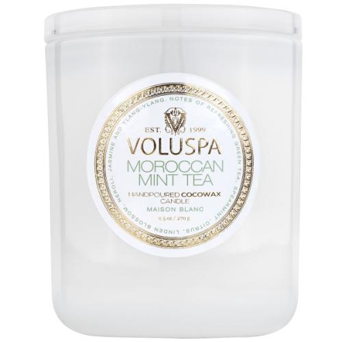 VOLUSPA MOROCCAN MINT TEA 9.5 OZ CLASSIC CANDLE