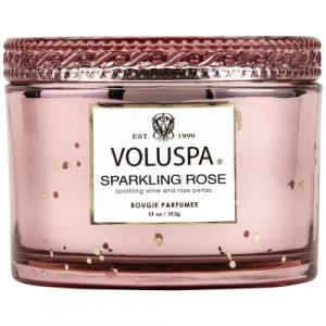VOLUSPA SPARKLING ROSE CORTA MAISON WITH LID 11 OZ