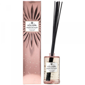 VOLUSPA SPARKLING ROSE REED DIFFUSER 6.5 OZ