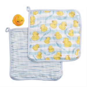 WASHCLOTH AND DUCKY SET