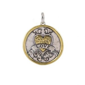WAVING POETIC LOVE REVOLUTION MEDALLION