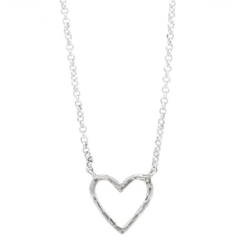WAXING POETIC EVER OPEN HEART NECKLACE
