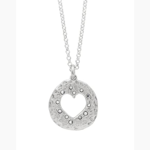 WAXING POETIC LOVE IN ALL FORMS HEART NECKLACE