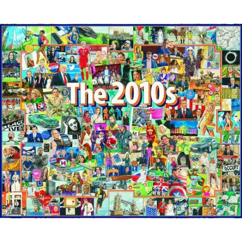 WHITE MOUNTAIN PUZZLE THE 2010'S 1000 PIECE
