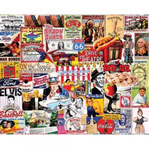 WHITE MOUNTAIN PUZZLES AMERICANA 1000 PIECE