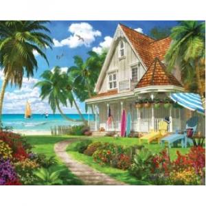 WHITE MOUNTAIN PUZZLES BEACH HOUSE PUZZLE